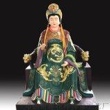 泰山圣母神像彩绘三娘娘神像三奶奶大奶奶 二奶奶佛像