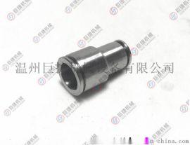 尼龙管快插接头 PVC管快拧接头不锈钢异径双头快插