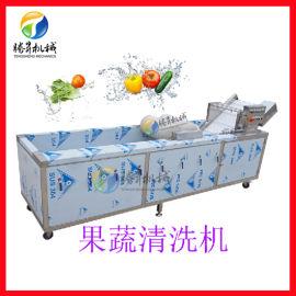 供应不锈钢连续式洗菜机水果蔬菜清洗机
