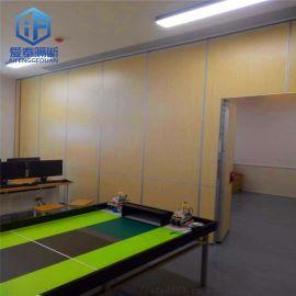 深圳办公室活动隔断 会议室移动隔墙厂家定制安装