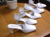 庫存白色女裝鞋