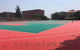 懸浮地板廠家拼裝地板籃球場施工安裝河北湘冠體育