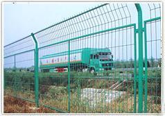厂家直销浸塑1.8*3m高速围栏网