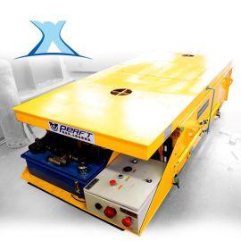 蓄电池轨道车电动平车大型支架  钢包轨道车