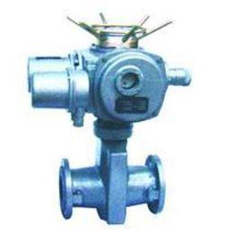 GJ941X电动管夹阀门 铝合金电动管夹阀 法兰铸钢电动管夹阀
