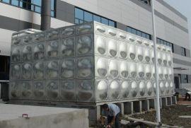 不锈钢低位消防水箱生产 不锈钢焊接水箱