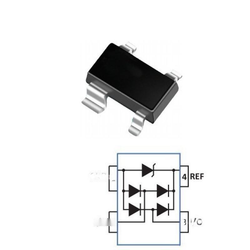 SR05 ESD 防靜電二極體 集電通品牌全新正品靜電ESD器件