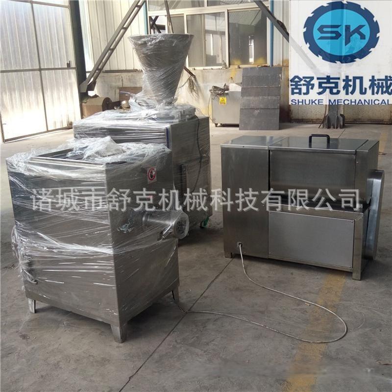成套台烤设备 哈尔滨红肠加工设备 液压灌肠机 阿里诚信实力厂商