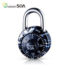铠盾锁爱 密码挂锁 箱包挂锁 旅行包挂锁 KD2301A-C