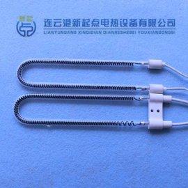 U型碳纤维加热管,U型石英碳纤维加热管