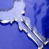供应皮革广告布料皮具竹木亚克力激光机雕刻机 激光切割机