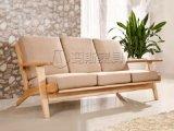 GE290沙发 北欧风格家具 三人位沙发 休闲沙发 水曲柳实木椅