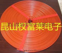 防火耐高温隔热管内纤维外硅橡胶绝缘套管