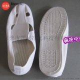 静电鞋,PVC帆布四眼鞋