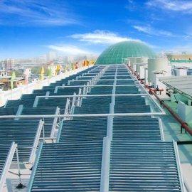 玻璃真空管热水器,热水工程系统,太阳能热水工程,广东热水工程