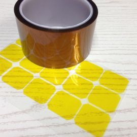 东莞道滘金手指胶带, PI茶色高温胶带冲型