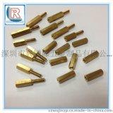 廣東銅柱M3-M20安防光電銅柱/內外牙六角間隔銅柱
