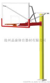 """晶康体育器材公司直销10005型""""晶康牌""""方管固定式篮球架 足球门 乒乓球台"""