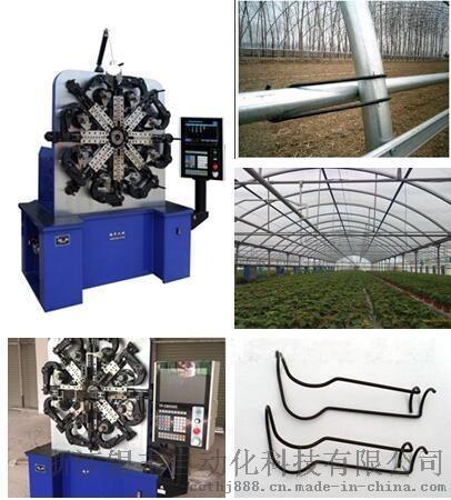 浙江大棚压顶簧成型机,压顶簧自动生产设备