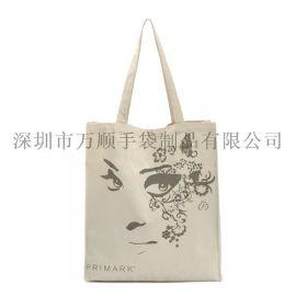 學院風書包購物袋簡約女式手提環保袋男女休閒帆布手提書包袋