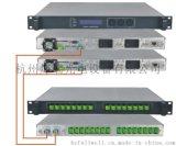 主、副熱備份EYDFA, 資料自動通信 1550nm高功率主、副熱備份鉺、鐿共摻光纖放大器 / EYDFA, 1U機箱,輸出總功率:30~33dBm