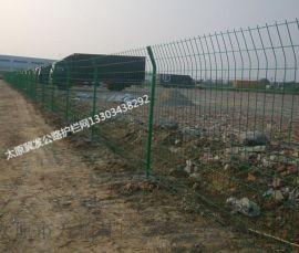 现货供应太原双边丝护栏网-新型绿色公路围栏网 质量保证