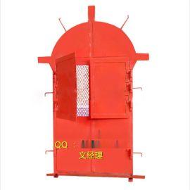 防火栅栏门圆拱门矿下专用门