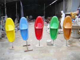 鞋子工艺品 树脂鞋子工艺品雕塑 玻璃钢卡通鞋子工艺品定制