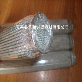 哲瀚厂家直销不锈钢折叠滤芯 塑料颗粒过滤芯 100μm 可定制