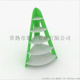金字塔促销柜 中岛柜 婴儿奶粉玩具展柜 母婴用品展示柜