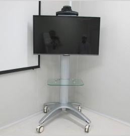 视频会议液晶电视移动落地支架  铝合金材质