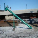 鋸末飼料螺旋提升機大型移動式圓管輸送機鋸末木屑螺旋提升機價格