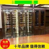 不鏽鋼酒櫃不鏽鋼恆溫酒櫃會所餐廳酒櫃酒店紅酒櫃不鏽鋼酒櫃定製
