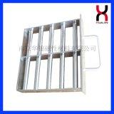 方形磁力架,方磁格栅,磁力格栅,强磁格栅,磁性格栅,料斗磁棒