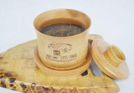 巨匠厂家定制经典中国风盖碗竹子茶杯礼品茶具套装