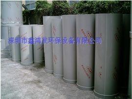 深圳排风输送PP管道工程 通风管安装 送风管 可定制