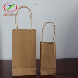 潍坊牛皮纸手提袋食品手提袋 纸袋供应商