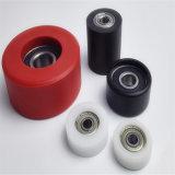 厂家生产 超高分子聚氨酯托辊 包铁件 型号齐全