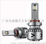 亚马逊V11超小体积汽车LED大灯双色汽车大灯氙气