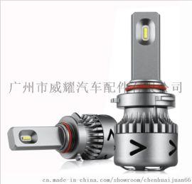 **V11超小体积汽车LED大灯双色汽车大灯氙气