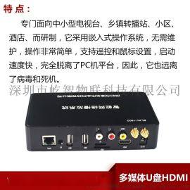 多媒体信息发布网络高清播放盒