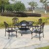 鑄鋁燒烤桌椅 古銅色經典耐用