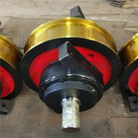 长期供应 轨道轮 φ600*150主动车轮组