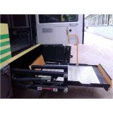 客车用旋转式轮椅升降平台 残疾人无障碍上车装置