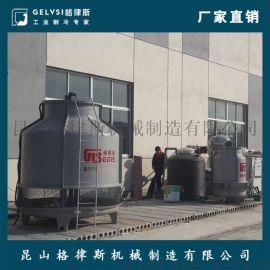 浙江开式玻璃钢冷却塔 100吨逆流式圆形塔