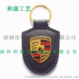 厂家供应皮具钥匙扣 制作金属钥匙扣