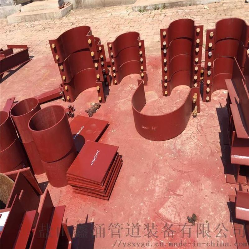 管道固定管夾|D2三孔短管夾|焊制管道支座量大從優