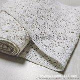 精細棉線花邊棉絨花邊輔料優質棉線機織花邊