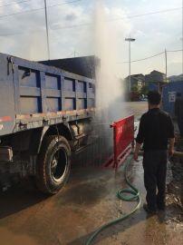 厂家供应南宁建筑工地冲洗平台 柳州工地洗车设备