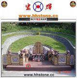 新产品印度红家族墓碑/印度红纪念碑